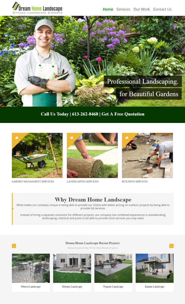 Ottawa Landscaping Services